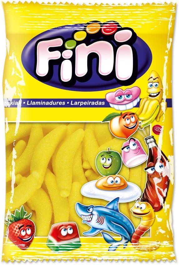 Fini Caramelo de Goma Sabor Plátano - 1000 gr