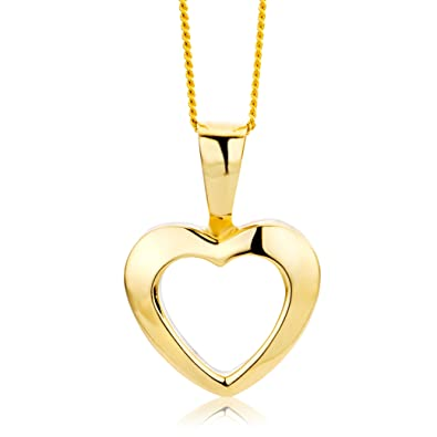 Miore Necklace - Pendant Women Chain Yellow Gold 9 Kt/375 Chain 45 cm