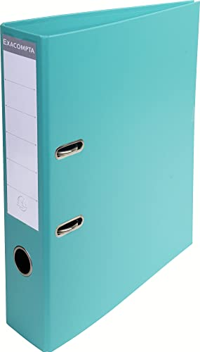 Exacompta A4 Prem'Touch PVC Lever Arch File, 2 Ring, 70 mm Spine, Light Green