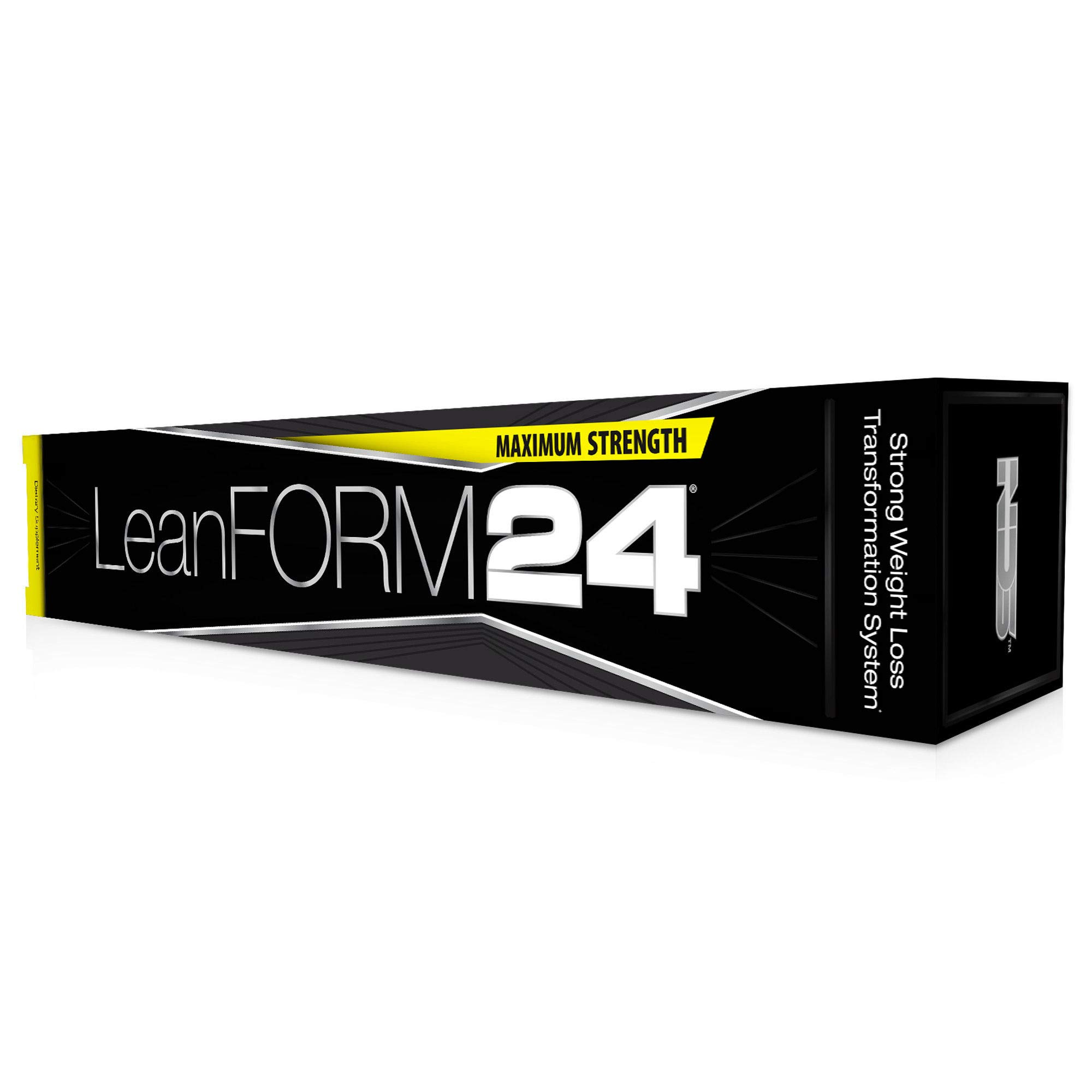 NDS Nutrition LeanForm24 - Weight Loss, Decrease Appetite, Energy Booster - Maximum Strength Diet Kit with L-Carnitine and CLA - LipoRush XT 60 Capsules - Censor 180 Softgels - Slim-Tox 90 Capsules