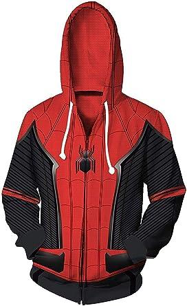 Cosplay Sweat /à Capuche PS4 Spider-Man