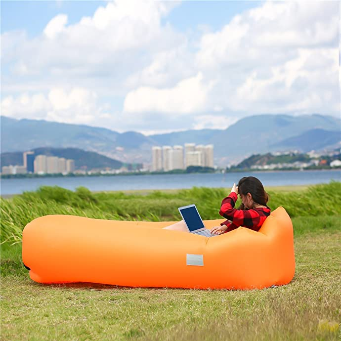Inflatable Lounger Air Sofa Chair