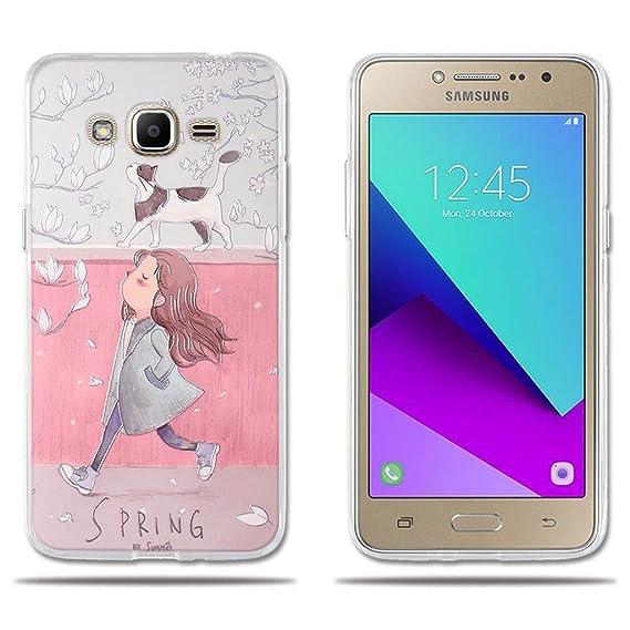 best cheap b857a 34062 Amazon.com: Samsung Galaxy J2 Prime Case 3D Cartoon Pattern [Girls ...
