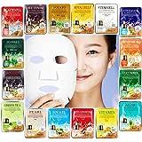 Ultra Hydrating Moisture Essence Collagen Facial Mask Face Care Sheet Korea Cosmetics 16 PCS Set
