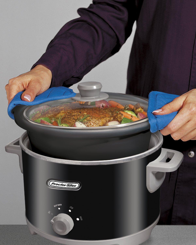 Proctor-Silex, Ceramic Slow Cooker (4 qt)