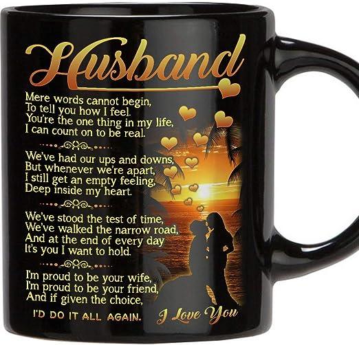 Amazon.com: Regalo perfecto para marido – Taza de café de ...