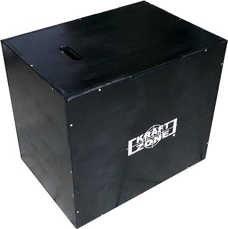 Fuerza Zona® PLYO Caja de madera caja de Salto Salto Buzón Jump Box, Crossfit, entrenamiento de salto, Free letics 20, 24, 30 Pulgadas: Amazon.es: Deportes y aire libre
