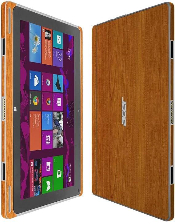 Skinomi Light Wood Skin+Clear Screen Protector Cover for Lenovo Yoga Tablet 10
