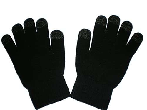 IGGI Unisex Smartphone iPhone Touch Screen Winter Gloves - Black