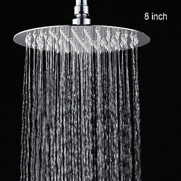 Dusche Kopf Hinmay Wasser Spart Rund Viereckig Chrom Bad Dusche