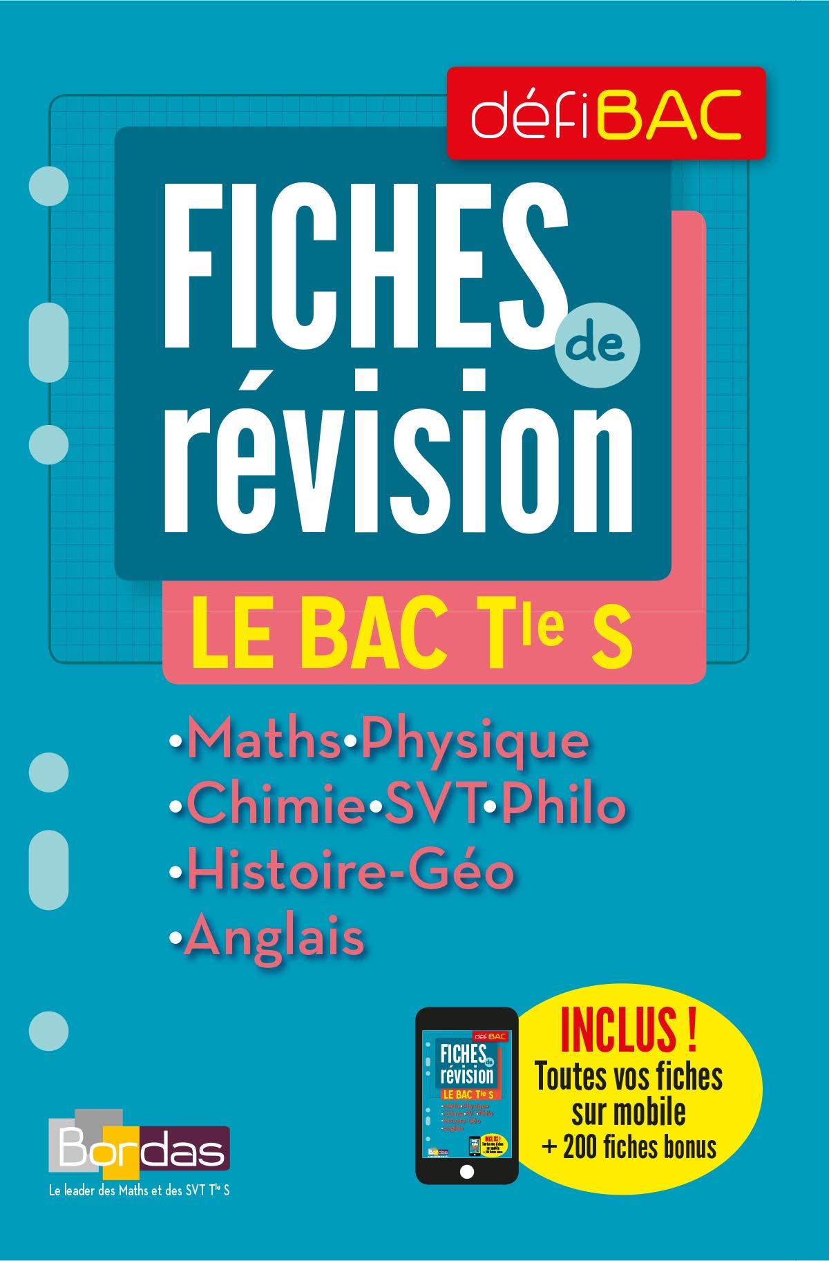 Defibac Compilation Fiches de Révision le Bac Tle S Défibac: Amazon.es: Collectif, Catherine Lebert, Paul Lienhard, Anne Mingalon, Anne-Sophie Caveau: ...