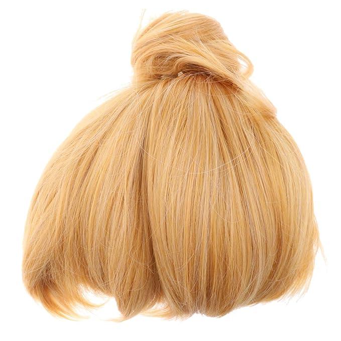 blesiya Campanilla Rubio sintético peluca peluca Pixie Cosplay Fiesta Disfraz: Amazon.es: Belleza