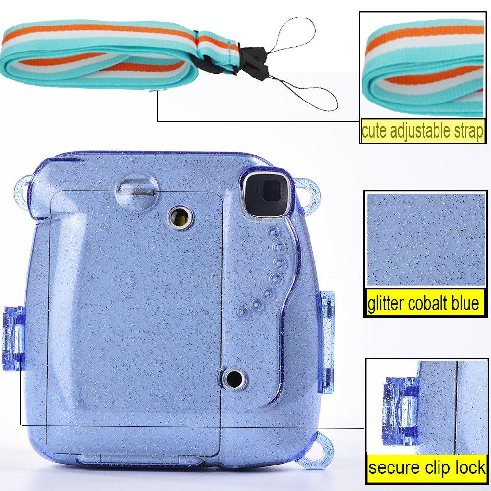 Iincluyen Instax Mini 9 Funda Selfie lente SAIKA Accesorios de C/ámara para Fujifilm Instax Mini 9 8 8 Wall Cuelgue cuadros Border Pegatinas Film frames Flamencos /Álbum
