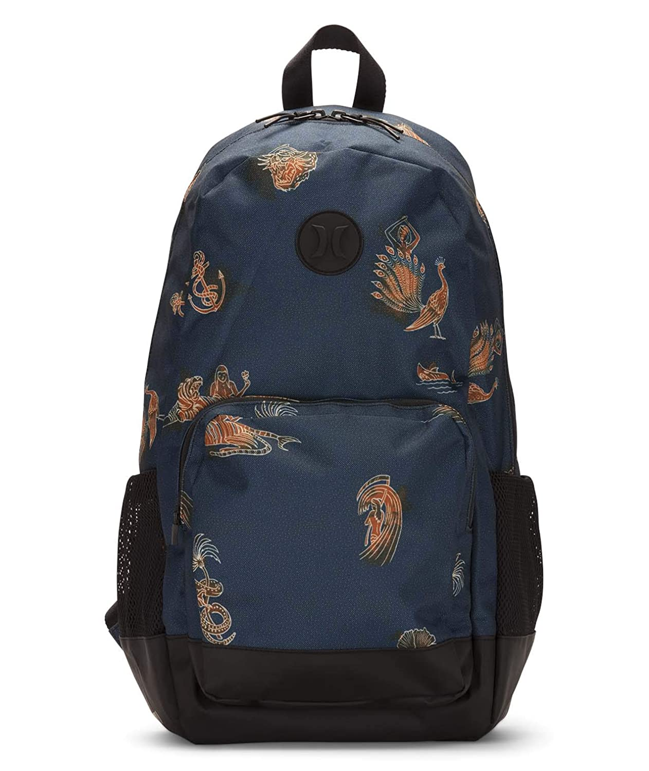 Hurley Men's Renegade Printed Laptop Backpack Blue Force Qty HU0011