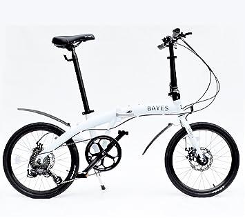 Bayes – Bicicleta plegable de aluminio Shimano, de 20 ...