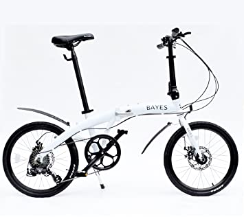 Bicicleta plegable Alu 50.8 cm Shimano 8 marchas con frenos de disco bicicleta plegable Folding Bike