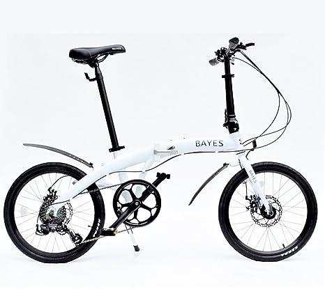Bici Pieghevole In Alluminio.Bici Pieghevole In Alluminio 50 8 Cm 8 Marce Con Dischi Freni