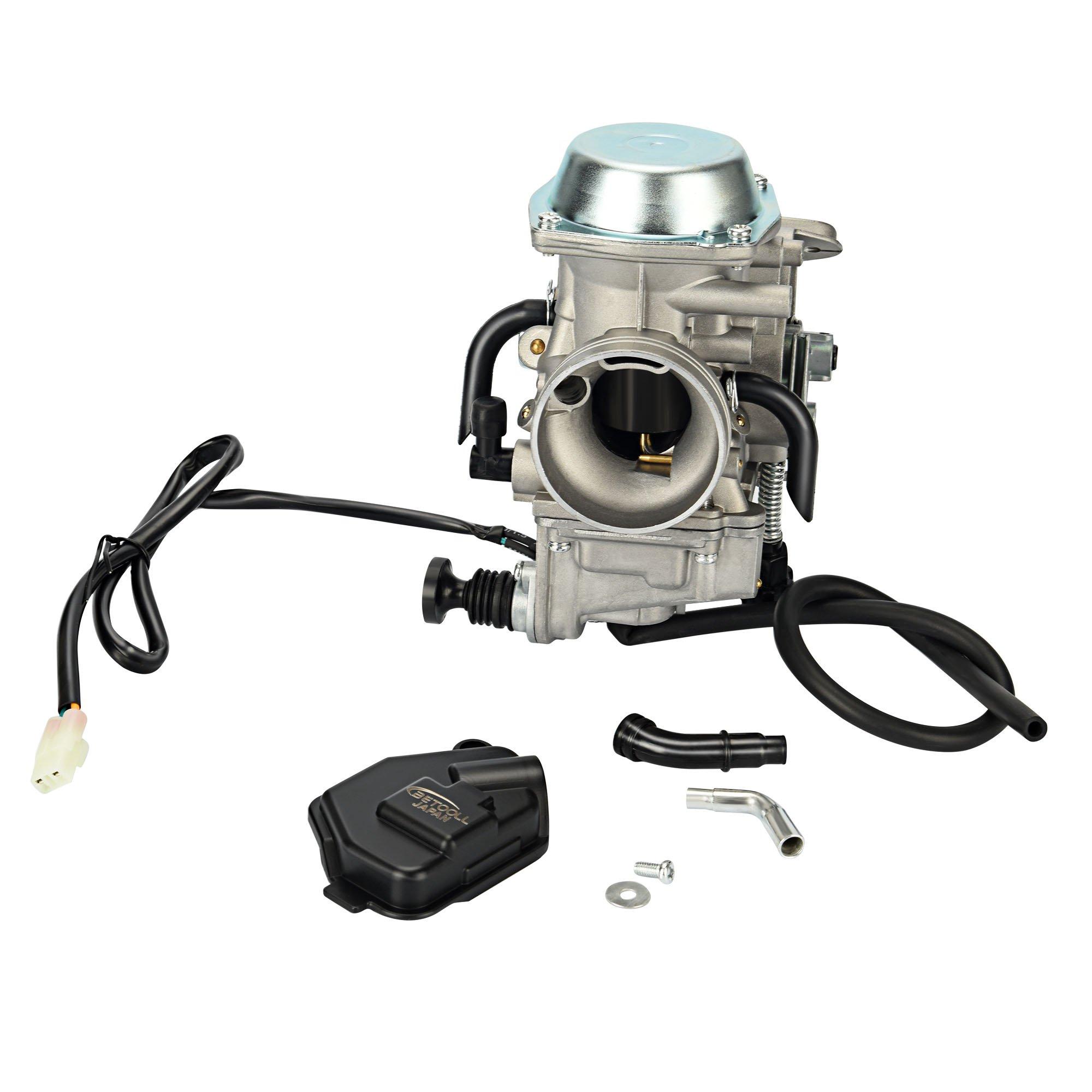 BETOOLL Replacement Carburetor for Honda TRX350 ATV Carburetor TRX 350 Rancher 350ES/FE/FMTE/TM/CARB 2000-2006 TRX300 1988-2000 TRX400 TRX 400FW Foreman CARB, TRX 450 Carburetor TRX450F (with Heater)
