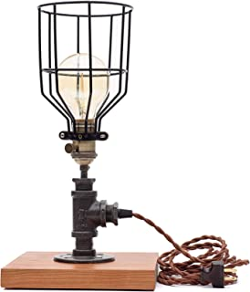 product image for Pipe Industrial Table-Top Desk Lamp Made in America (Allentown Lamp)