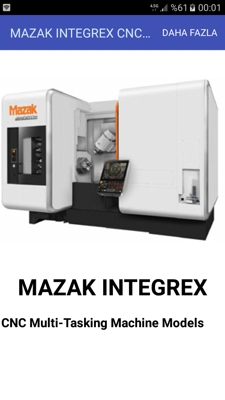 MAZAK INTEGREX CNC Multi-Tasking Machine Models: Amazon.es ...