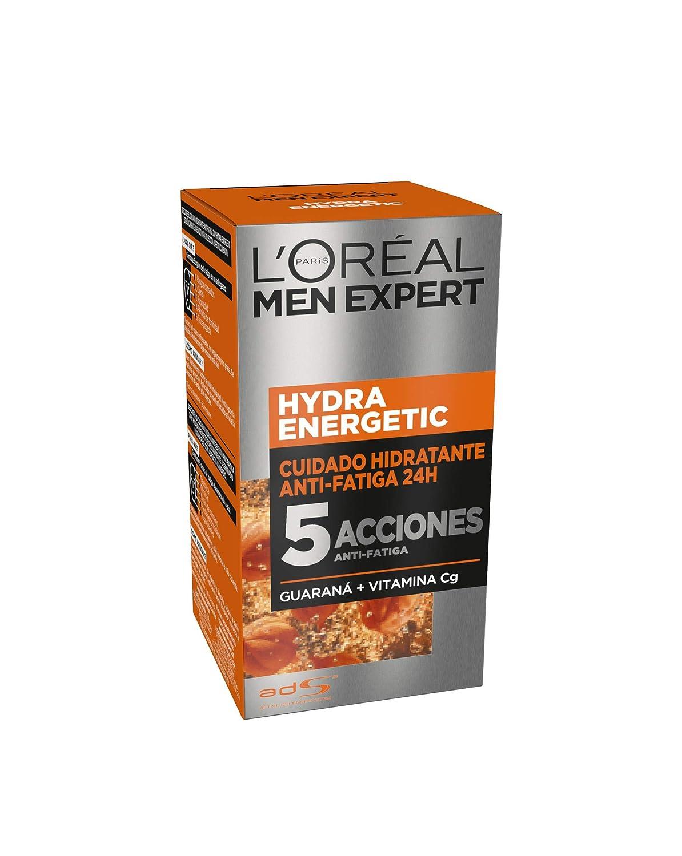 LOréal Paris Men Expert Hydra Energetic Crema Hidratante Anti-Fatiga para hombre - 50 ml