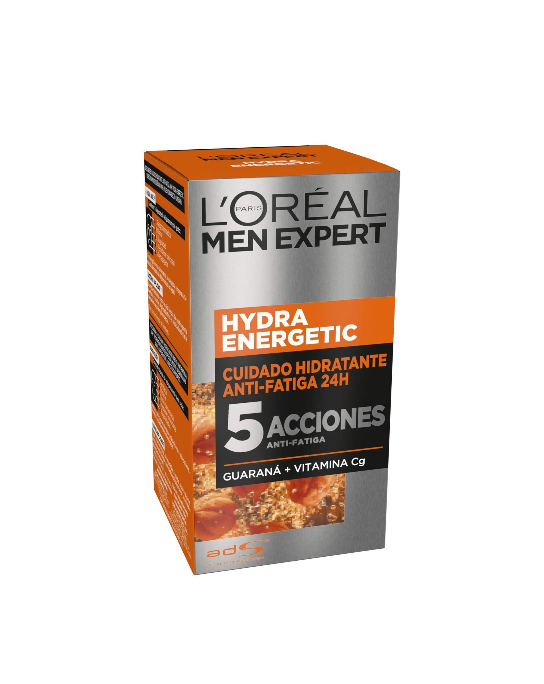 L'Oréal Paris Men Expert Hydra Energetic Crema Hidratante Anti-Fatiga para hombre - 50 ml product image
