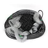 "Angling Tackle 1.4"" x 1.4"" Mesh Fishing Landing Gill Net 30M Long"