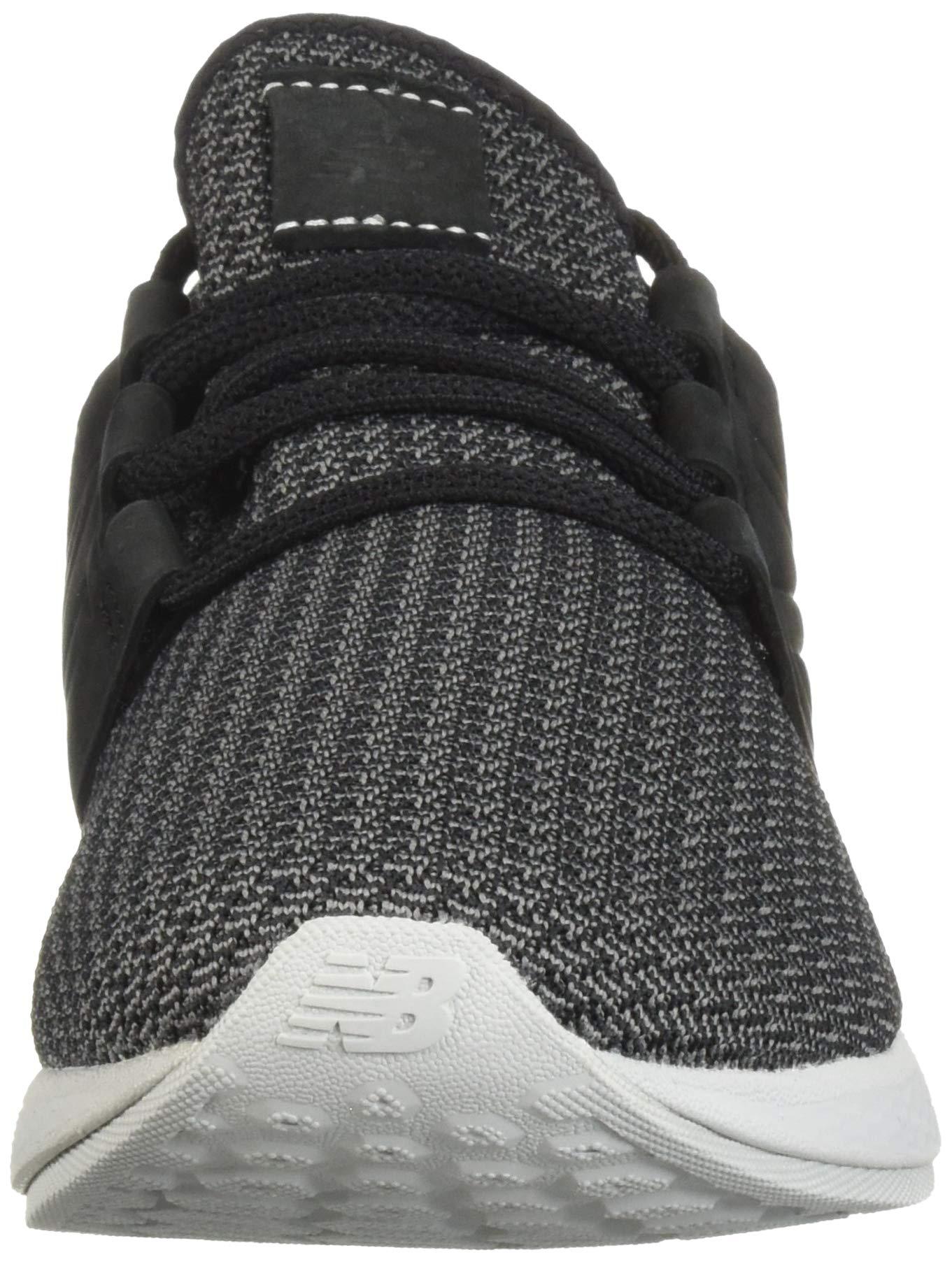 New Balance Men's Cruz V2 Fresh Foam Running Shoe, black/castlerock/nubuck, 7 D US by New Balance (Image #4)