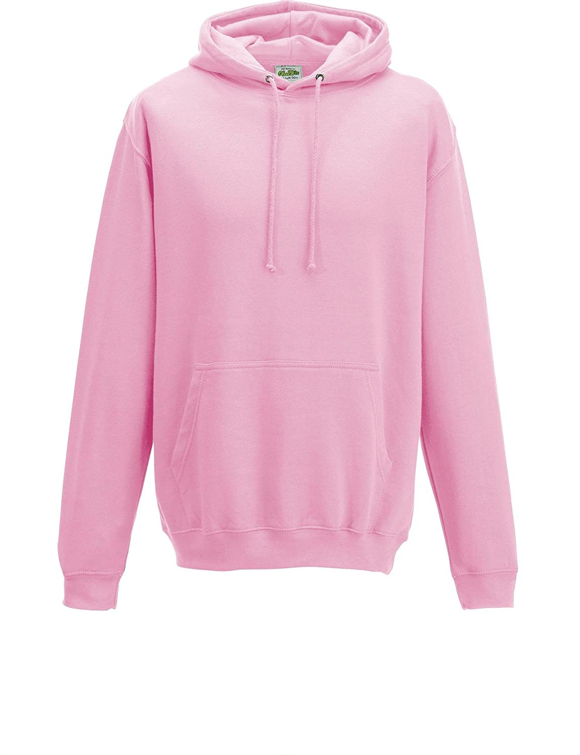 46 Different Colours Available Baby Pink AWDis Hoods Pullover College Hoodie XS