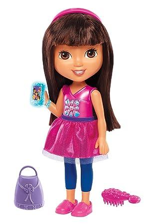 Dora la Exploradora - Dora Habla Conmigo (Mattel DGT59): Amazon.es ...