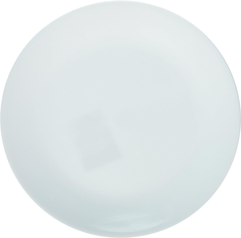 Amazon Com Corelle Winter Frost Plates White Dinner 10 1 4 Dia Pack Of 6 1 Pack Dinner Plates Dinner Plates