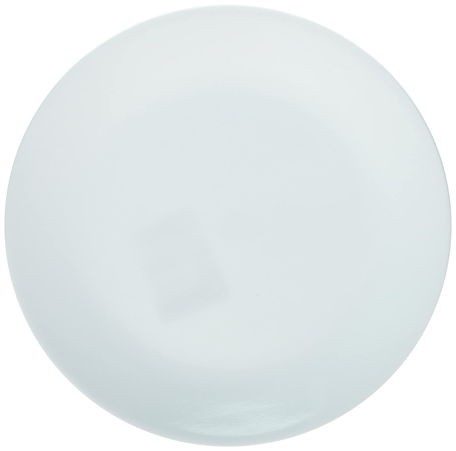 "Corelle Winter Frost Plates White Dinner 10-1/4"" Dia. (Pack of 6)"