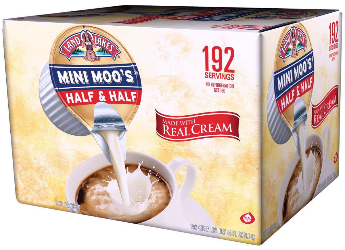 Mini Moo's Half and Half, 192/Carton, Sold as 1 Carton, 192 Each per Carton 192 Count