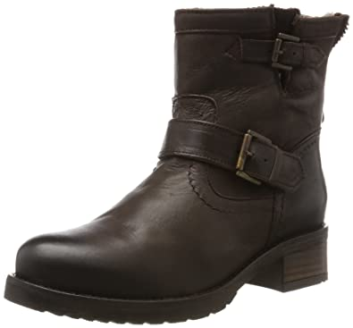 Womens ES 30493l Mexico Suede Biker Boots Buffalo Cheap Real Authentic TZbd5Wop2