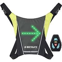 shenkey Chaleco de señal de Giro LED, Chaleco Reflectante LED con indicador de dirección:…