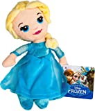 "DISNEY FROZEN ELSA CUTE SOFT PLUSH 8"" DOLL KIDS OFFICIAL"