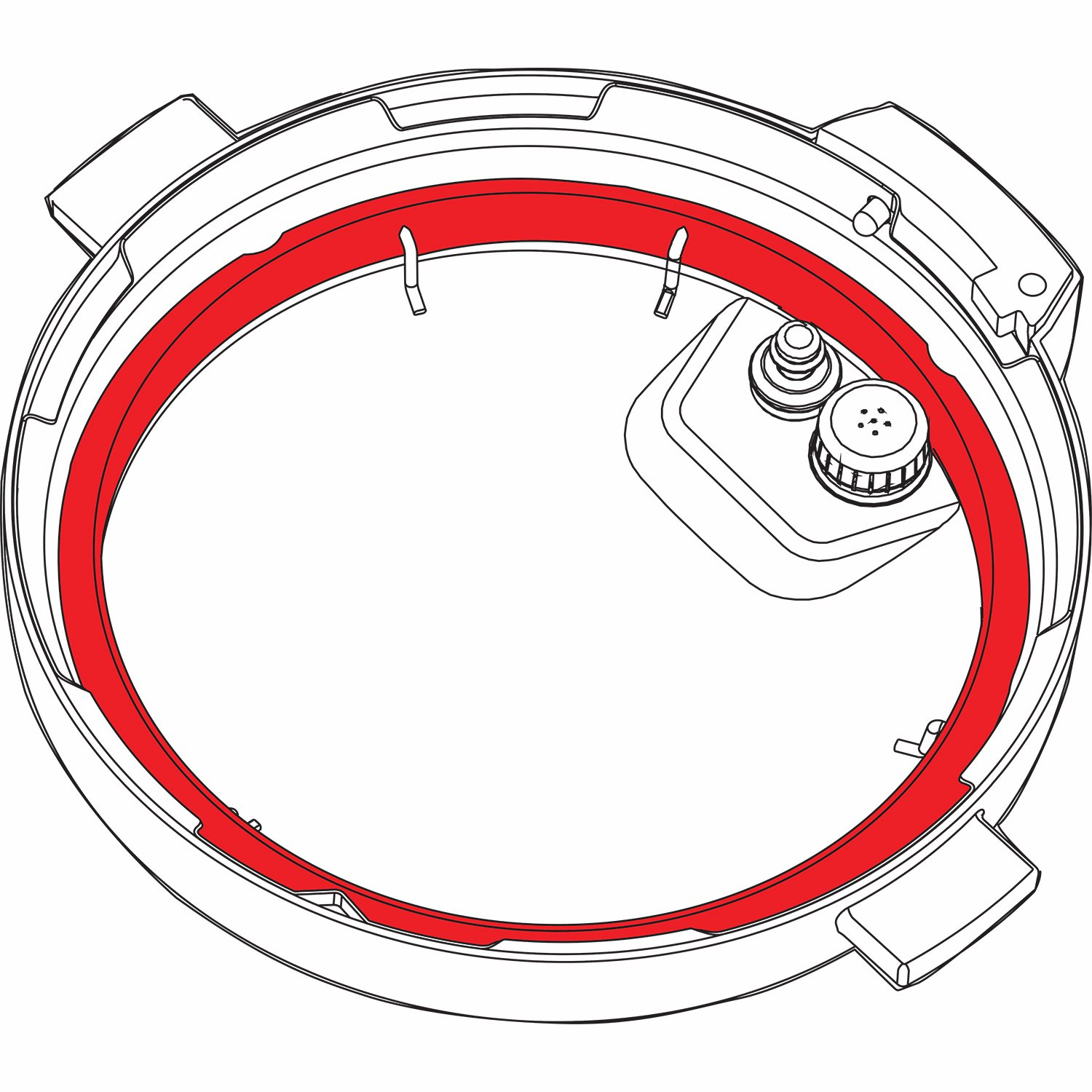 Instant Pot Accessory Sealing Ring