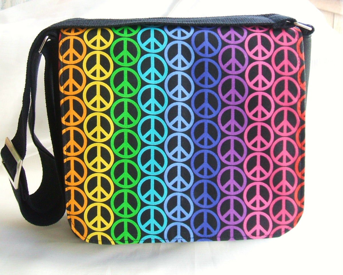 My Peace Collection Messenger Bag