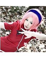 Kadiya Mid Length Pink Anime Cosplay Wig Girl Synthetic Hair