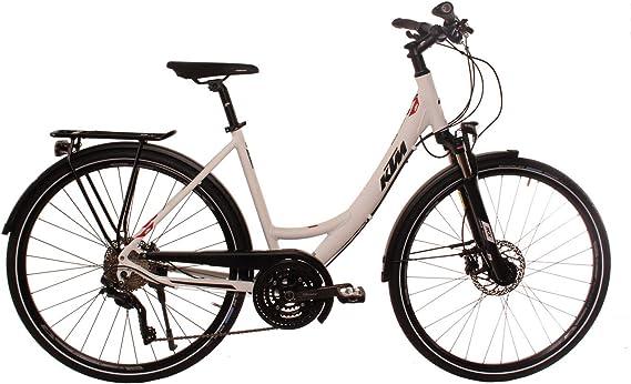 KTM Veneto Light Disc - Bicicleta de Trekking para Mujer (28 ...