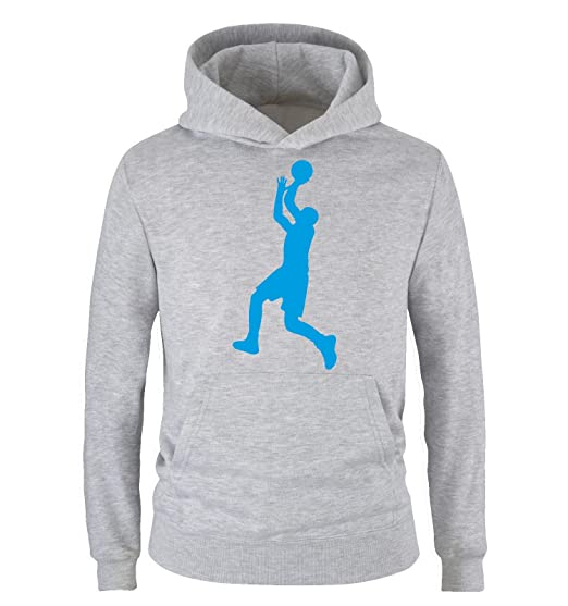 uk availability new product buying now Comedy Shirts - Basketballspieler - Kinder Hoodie - Gr. 98/104-152/164  Versch. Farben