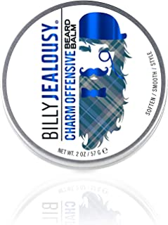 product image for Billy Jealousy Moisturizing Strengthening & Softening Everyday Beard Balm, Charm Offensive, 2 oz