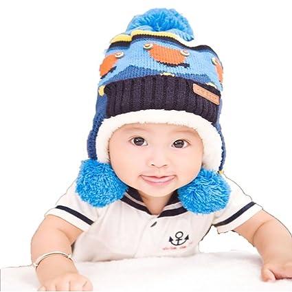 913eabd3658fce Pretty Baby Beanies,Dealzip Inc Baby Beanies Blue Unisex Baby Boys Toddler Kids  Child Winter
