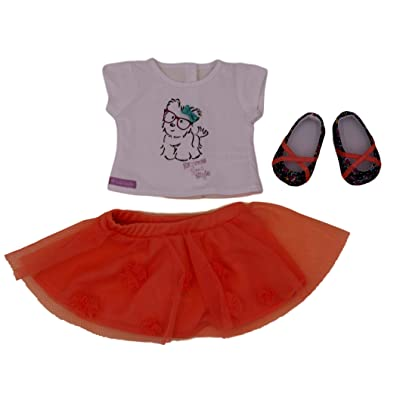 American Girl - Coconut Cutie Outfit for Dolls - Truly Me 2015: Toys & Games