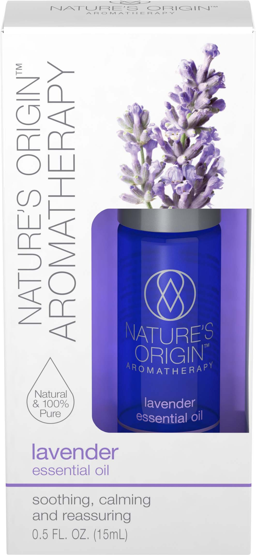 Nature's Origin™ Aromatherapy Lavender Essential Oil, 15 ml