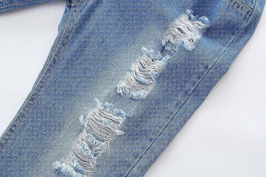 Memela New Fall 2018 Baby Pants,Children Kid Infant Boys Girls Hole Jeans Denim Casual Long Pants Clothes