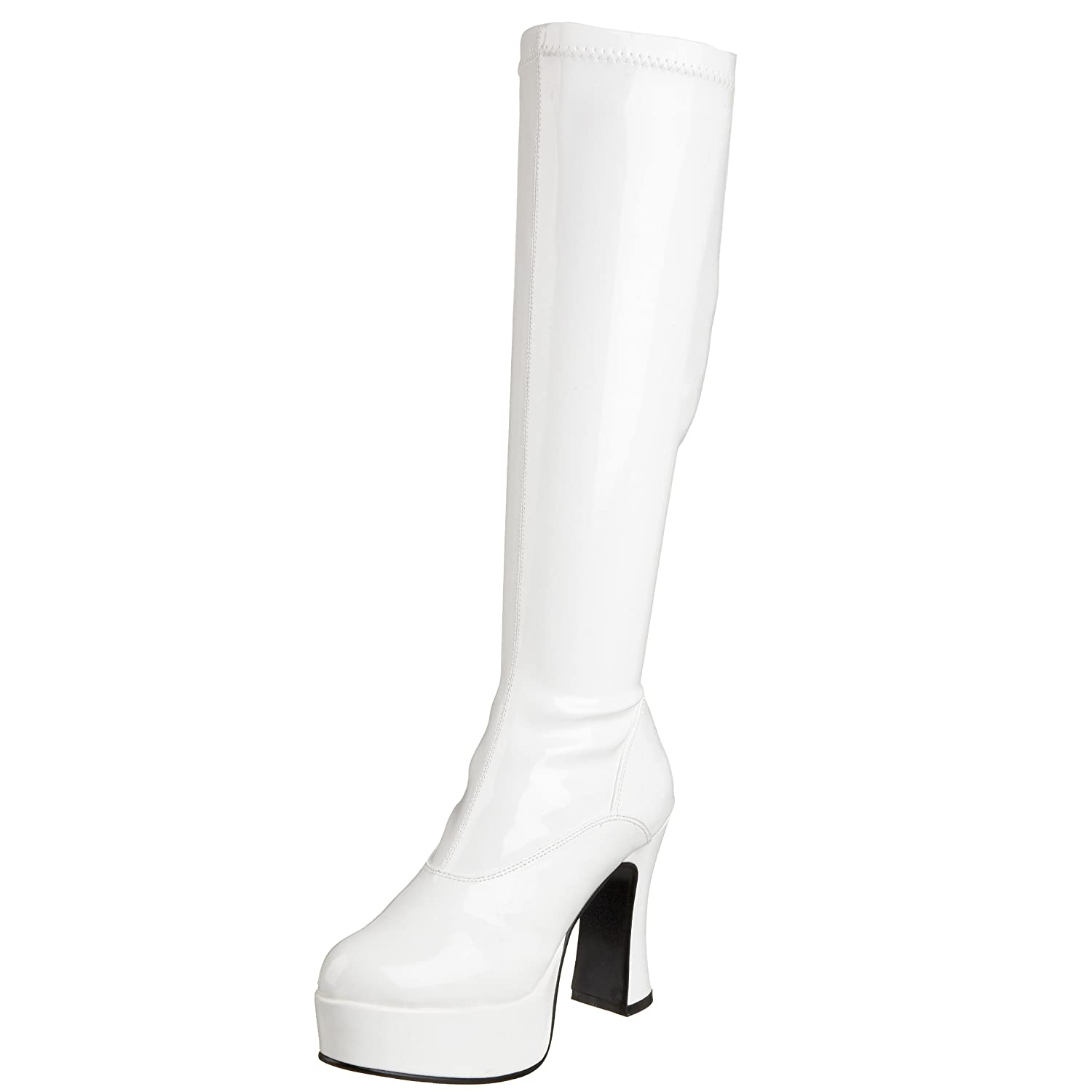 Pleaser Exotica-2000 - Botas Mujer11 UK|Blanco (White)
