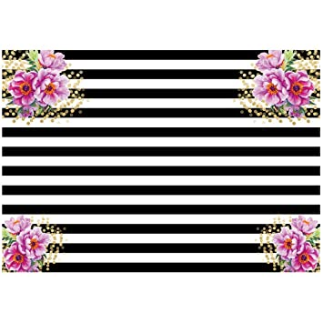 Amazon.com: SODIAL(R) 7x5ft photography backdrops Black and ...