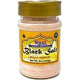 Rani Black Salt (Kala Namak Mineral) Powder, Vegan 5oz (142g) Unrefined, Pure and Natural | Gluten Friendly | NON-GMO | India
