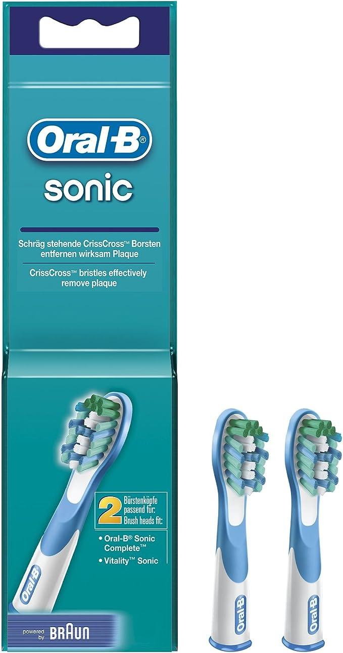 Oral-B - Cabezales de recambio - Sonic para cepillo de dientes ...